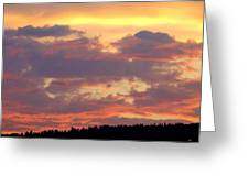 A Remarkable Sky Greeting Card
