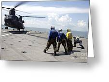 A Republic Of Singapore Air Force Ch-47 Greeting Card