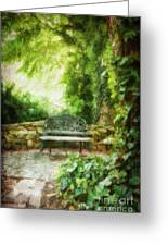 A Restful Retreat Greeting Card