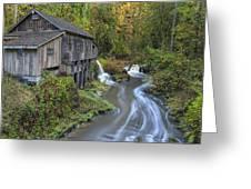 A River Flows Through It Greeting Card
