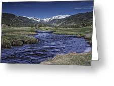 A River Runs Thru It Greeting Card