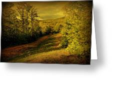 A Road Less Traveled Greeting Card