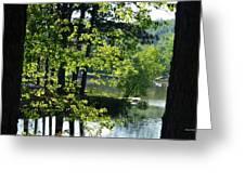 A Roadside View Greeting Card