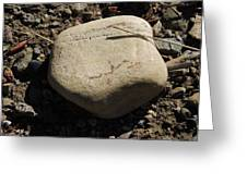 A Rock With No Roll Greeting Card