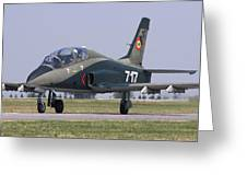A Romanian Air Force Advanced Trainer Greeting Card