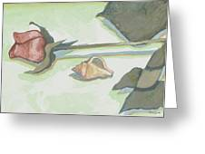 A Rose Is A Rose Except When It's A Shell Greeting Card