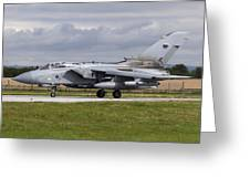 A Royal Air Force Tornado Gr4 Preparing Greeting Card