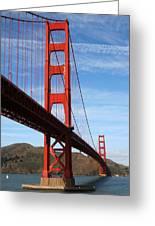 A San Francisco Icon Greeting Card
