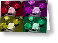 A Scent Of Roses Greeting Card