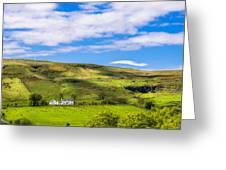 A Scottish Hillside Greeting Card