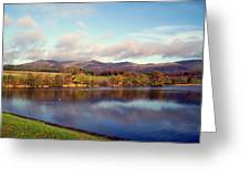 A Scottish View Greeting Card