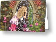 A Secret Garden Greeting Card