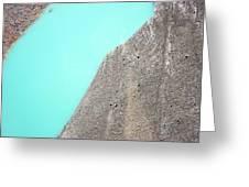 A Silty Glacier-dammed Lake Greeting Card