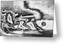 A Silvery Horny Day Greeting Card