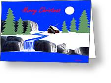 A Simple Christmas Greeting Card