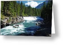 A Slice Of Montana Greeting Card