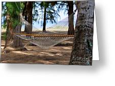 A Snooze By The Ocean Greeting Card