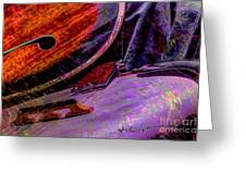 A Southern Combination Digital Banjo And Guitar Art By Steven Langston Greeting Card by Steven Lebron Langston