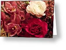 A Special Arrangement Greeting Card