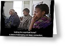 A Spiritual Home Greeting Card by Mike Hoyle