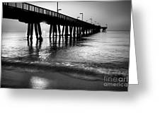 Sun Under Pompano Pier Greeting Card