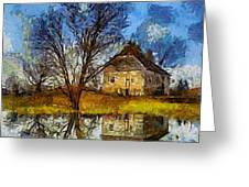 A Spring Flood Greeting Card