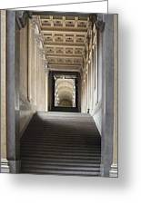 A Stair To The Beyond Greeting Card