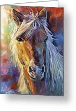 A Stallion Greeting Card