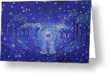 A Star Night Greeting Card by Ashleigh Dyan Bayer