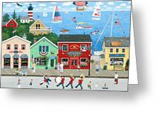 A Star Spangled Day   Greeting Card