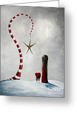 A Starlit Wish By Shawna Erback Greeting Card