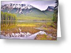 A Still Day At Buck Lake Greeting Card