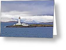 A Storm And The Lighthouse Greeting Card