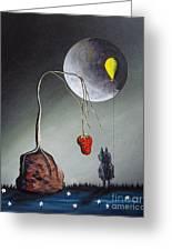 A Strange Dream By Shawna Erback Greeting Card