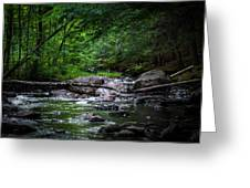 A Stream In Embden Greeting Card