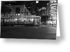 A Streetcar In Nola Greeting Card