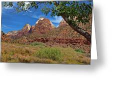 A Stunning View Greeting Card