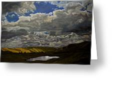 A Summer Day On Cottonwood Pass Greeting Card
