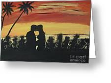 A Summer Kiss Greeting Card