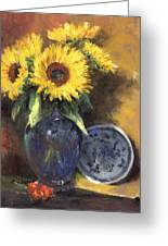 A Sunflower Smile Greeting Card
