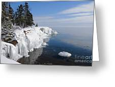 A Superior Winter Day #2 Greeting Card
