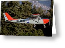 A T-41d Trainer Aircraft Greeting Card