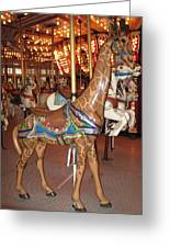 A Tall Ride Greeting Card
