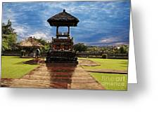 A Temple Greeting Card