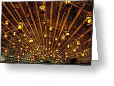 A Thousand Candles - Tunnel Of Light Greeting Card
