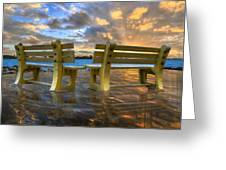 A Time For Reflection Greeting Card