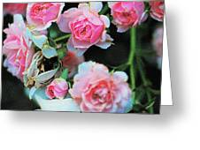 A Time For Roses Greeting Card