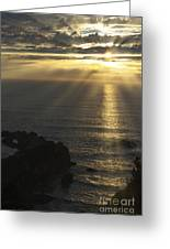 A Touch Of Heaven Greeting Card by Sandra Bronstein