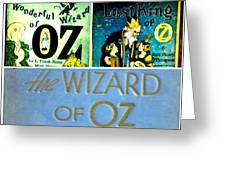 A Tribut To The Oz Greeting Card