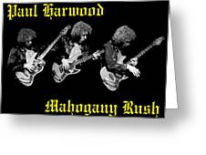 A Trinity Of Harwood Greeting Card